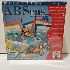 AB Seas Alphabet Fishing Game Discovery Toys Educational ABC Learning New Sealed