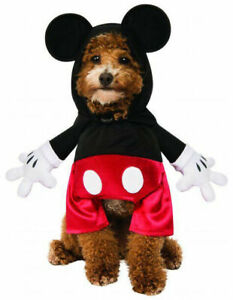 DP MICKEY MOUSE PET COSTUME - FANCY DRESS COSTUME (SIZE: L) COST-UNI NEW