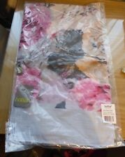 Beautiful Grey & Floral Scarf by Hotter. Style Blossom. New in Packet.