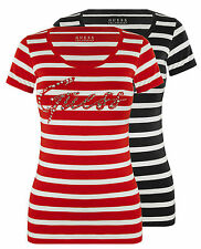 GUESS Striped T-Shirts for Women
