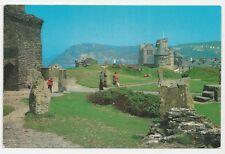 Postcard, PLX28371, ABY 261, Castle Burial Ground, Aberystwyth