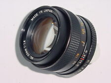 Yashica 50mm F1.4 ML Manual Focus Standard Lens - Contax Mount C/Y