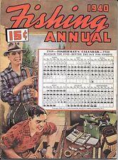 Sports Afield magazine Fishing Annual 1940  field stream