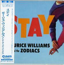 MAURICE WILLIAMS & THE ZODIACS-STAY-JAPAN MINI LP CD BONUS TRACK C94