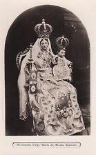 PALESTINE - Beatissima Virgo Maria de Monte Carmelo - Photo Postcard