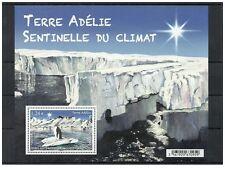 2015- TAAF- Terre d'Adélie- Sentinel of the climate - Minisheet MNH**