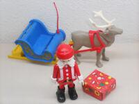 """35x26cm Nostalgischer Adventskalender /""""Weihnachtsmann im Rentierschlitten/"""" #771"""