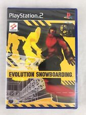 PS2 Evolution Snowboarding (2003), UK Pal, Brand New & Factory Sealed