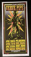 Mark Arminski Signed Poster The Verve Pipe April Michigan Tour 1996