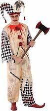 Déguisement ARLEQUIN Ensanglanté Ado 14/16 Ans Enfant Garçon Halloween NEUF