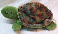 "Gund NAUTICA World Wildlife Fund NICE TURTLE 10"" Plush Stuffed Animal TOY"
