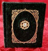 Rare MINIATURE book, Guy de Maupassant THE FALSE GEM,  Fine Binding, illustrated