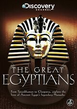 THE GREAT EGYPTIANS Stagione 1-2 BOX 3DVD Discovery Inglese NEW .cp
