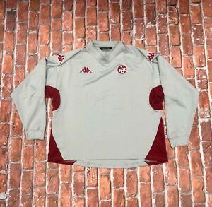 1. FC Kaiserslautern Kappa Soccer Football Training Long Sleeve Jersey Shirt XL