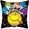 New Apac Group 18 Inch Happy Retirement Smiley Foil Party Balloon