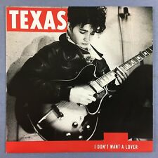 Texas - I Don't Want A Lover / Believe Me - Mercury TEX-1 Ex+ Condition