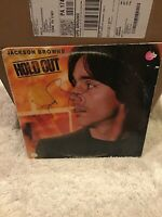 JACKSON BROWNE SIGNED AUTOGRAPHED HOLD OUT VINYL LP RECORD  - COA
