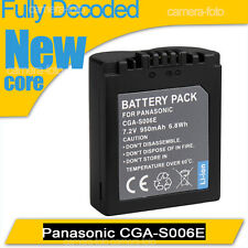 New Battery for Panasonic CGA-S006 CGA-S006E CGR-S006E CGR-S006E/1B CGR-S006E/1