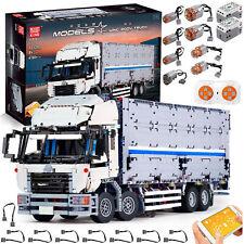 Mould King Technic 13139 Ferngesteuert App LKW Truck Mit 8 Motoren 4166 Bauteile