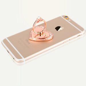 Universal 360 Rotating Finger Ring Stand Holder For Cell Phone -  HEART of LOVE
