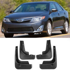 OE Front Rear set 4 Pcs Splash Mud Guards Flaps For 12-14 Toyota Camry 4 Door