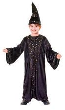 Chidrens Wizard Fancy Dress Costume Boys Girls Halloween Kids Outfit M