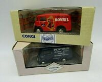 2 Corgi Morris J. Vans, advertising, Bovril and Pickfords . Boxed in V.G.C