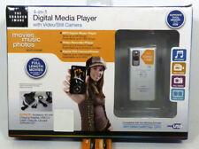 New Sharper Image 4-in-1 Digital Media Player With Video/Still Camera