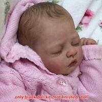 "Handmade 20"" Reborn Baby Doll Lifelike Newborn Sleeping Silicone Vinyl Mold DIY"