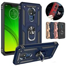 For Motorola Moto E6 G7 G8 Plus/G7 Power/Play Armor Ring Stand rubber Case Cover