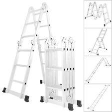 Multi Purpose Aluminum Ladder Folding Step Ladder Extendable Heavy Duty