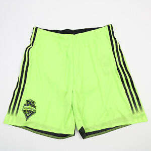 Seattle Sounders FC adidas  Athletic Shorts Men's Yellow Green New with Tags
