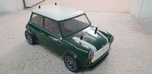 Tamiya Green Mini Cooper M01 Chassis Front Wheel Drive M-01