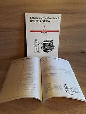 Fehlersuch Handbuch Deutz Motor 912 F2L912 für Traktor D3607