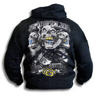 Gangster Hustler Thug Bling Mens Womens Youth Hoody Sm 2XL Hooded Top Sweatshirt