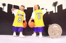 Lil Locsters Series # 4 Player Basketball Lakers Homies Figure Figurine Diorama