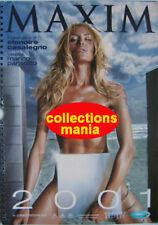 Calendar sexy-ELENOIRE CASALEGNO- Calendario MAXIM 2001
