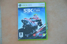 JEU XBOX 360 - SBK 08 bike cross -  VF complet