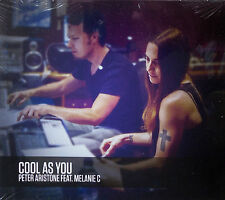 PETER ARISTONE feat. MELANIE C * COOL AS YOU * LIMITED EDITION 4 TRK CD * HTF!