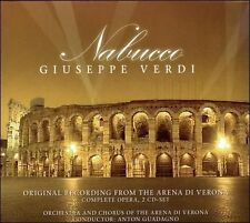 NEW Nabucco:Orig.Rec.Arena Di Vero (Audio CD)