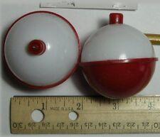 "South Bend Sb-F12 Red & White Bobbers 2"" Fishing Floats (2 Pak)"