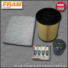 SERVICE KIT VOLVO S40 II 1.8 16V FRAM OIL AIR CABIN FILTER NGK PLUGS (2007-2012)