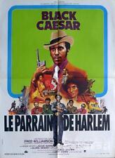 BLACK CAESAR - HARLEM / BLACKSPLOITATION / WILLIAMSON - ORIGINAL FRENCH POSTER