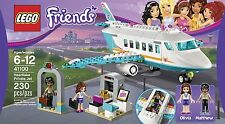 NEW Lego Friends Private Jet Plane Airplane 41100 Olivia Matthew