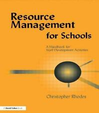 Resource Management for Schools : A Handbook of Staff Development Activities...