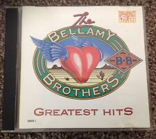 BELLAMY BROTHERS - GREATEST HITS CD - If I SAid You Had A Beattiful Body etc.
