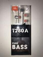 Harman Kardon JBL T280A Earphones With Microphone/remote - Silver