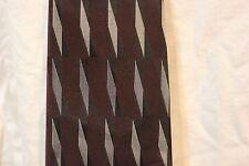 Joseph & Feiss Dress Neck tie 100% silk mens dark gray purple silver