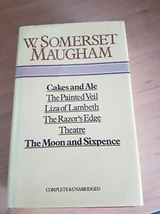 W. Somerset Maugham BCA OMNIBUS 6 books complete and unabridged HB book