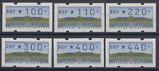 BUND AUTOMATENMARKEN - 1997 ATM 2 SANSSOUCI 1.2 VS 3 - EINDRUCK DBP 100 - 440 **
